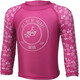 Color Kids Nammy UPF Mini LS Shirt Girls Fuchsia Red